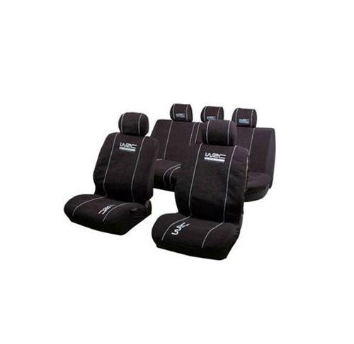wrc jeu housses de si ges noir complet universal tout pour votre voiture et camion delrue. Black Bedroom Furniture Sets. Home Design Ideas