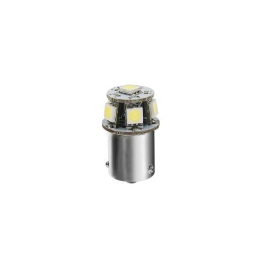 ampoule led blanc ba15s 24v hyper led 6 ledsmd 1pc tout pour votre voiture et camion delrue. Black Bedroom Furniture Sets. Home Design Ideas