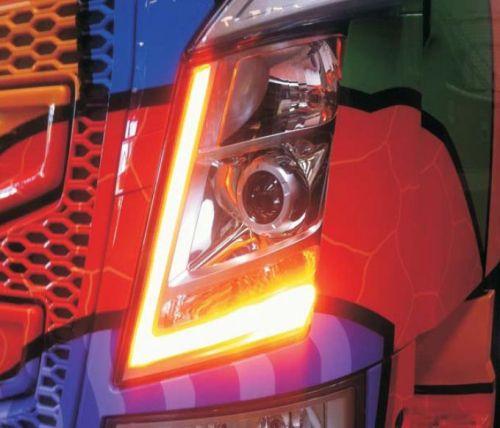 LED vervangmodules oranje DLR standlicht Volvo FH4 2012-2015
