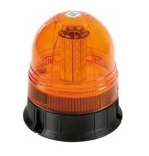 gyrophare h15cm led orange montagefixe 12 24v tout pour votre voiture et camion delrue. Black Bedroom Furniture Sets. Home Design Ideas
