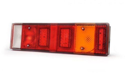 Achterlicht LED+gloeilamp 7-kamer universeel 12/24V