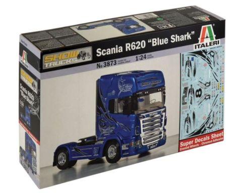 italeri maquette scania r620 blueshark 1 24 tout pour votre voiture et camion delrue. Black Bedroom Furniture Sets. Home Design Ideas