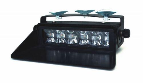 feu flash orange 6led avec ventouses 12v 24v tout pour votre voiture et camion delrue. Black Bedroom Furniture Sets. Home Design Ideas