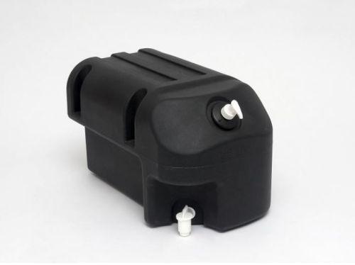 Watertank IDRO zwart 25L + pompje zeep + steunen