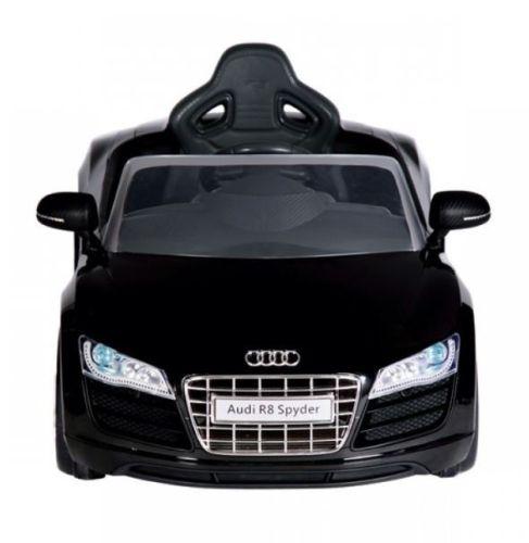 accu voiture audi r8 noir avec t l commande tout pour votre voiture et camion delrue. Black Bedroom Furniture Sets. Home Design Ideas