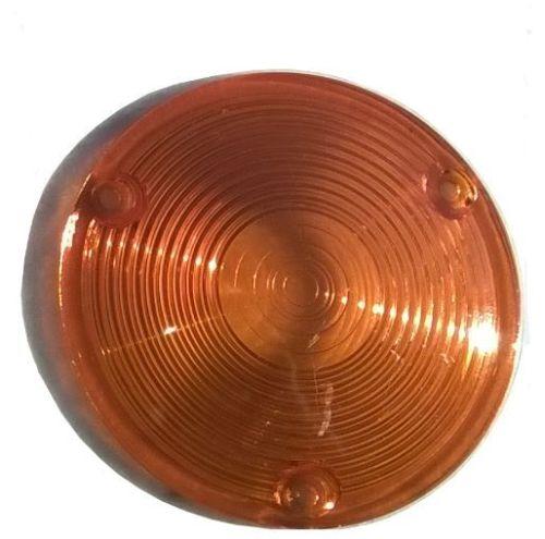 Vervangglas oranje voor Spaanse pinker Hella 11,8cm