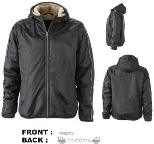 Vest wintersports jacket M zwart opdruk VOLVO