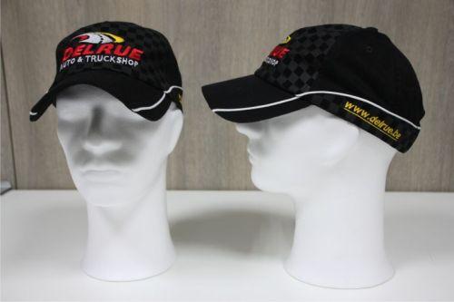Pet Racing zwart DELRUE logo geborduurd