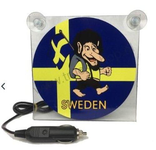 ecran lumineux led sweden deluxe 17x17cm 12 24v tout pour votre voiture et camion delrue. Black Bedroom Furniture Sets. Home Design Ideas