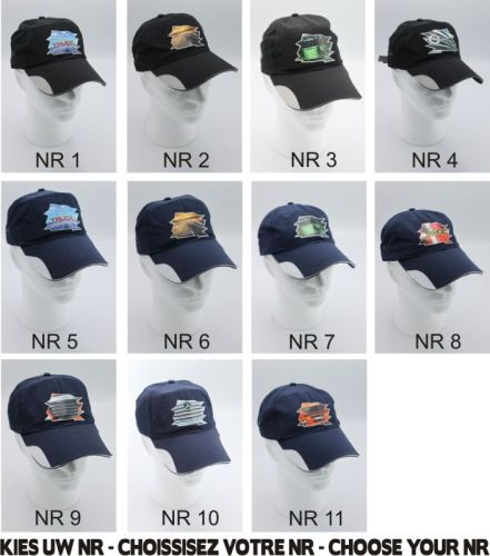 "PROMO Pet ""new trucker edition"" zwart / blauw"