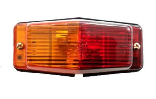 Markeerlamp rood/oranje met dubbelelamp