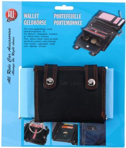 portefeuille cuir noir 12cmx10cm cha ne tout pour votre voiture et camion delrue. Black Bedroom Furniture Sets. Home Design Ideas