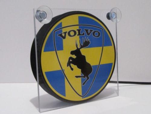 """Raamverlichting LED """"Volvo + elandZweden"""" 17,5x17,5cm 24V"""