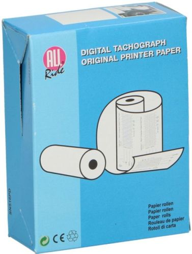 Papierrol voor digitale tachograaf(3 rolletjes) 57mmx8m