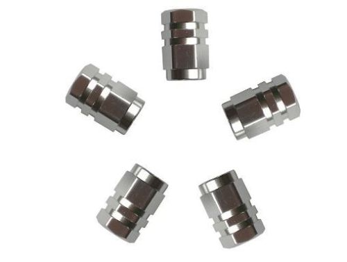 bouchons de valve aluminium 5pi ces tout pour votre voiture et camion delrue. Black Bedroom Furniture Sets. Home Design Ideas