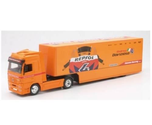 camion newray mercedes repsol honda 1 43 tout pour votre voiture et camion delrue. Black Bedroom Furniture Sets. Home Design Ideas