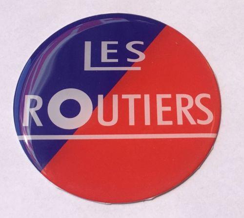 """Logo 3D """"Les Routiers"""" 7cm"""