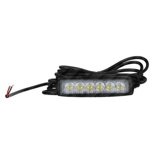 Werklamp balkje 6LED 16cm 1440Lumen10-30V