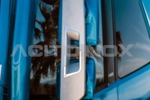 Contour inox achteruitkijkspiegel Volvo FH4 (2stuks)