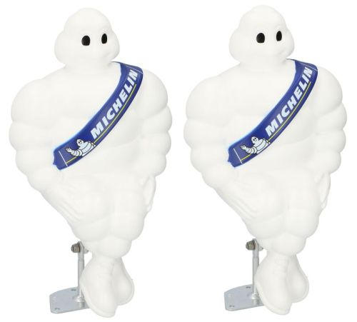 PROMO 2x Michelin pop Bibendum 40cmorigineel*