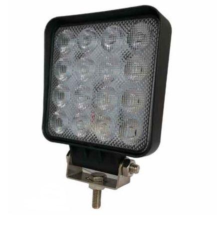 Werklamp 16LED vierkant 1920Lumen 12-24V (grafeen behuizing)