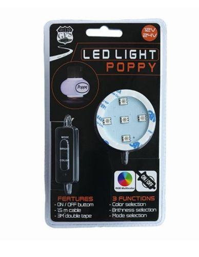 Poppy ledverlichting RGB 12V/24V (GPS-Route)
