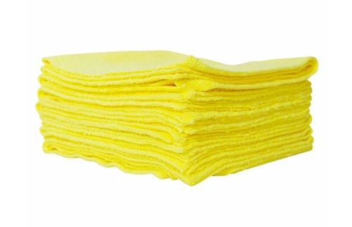 Microvezel doeken Edgeless PRO 40x40cm geel (10stuks)
