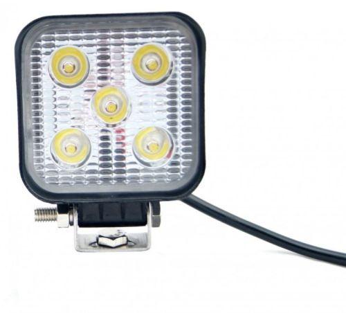 Werklamp mini 5LED 8,3cmx8,3cm 12V/24V 470Lumen