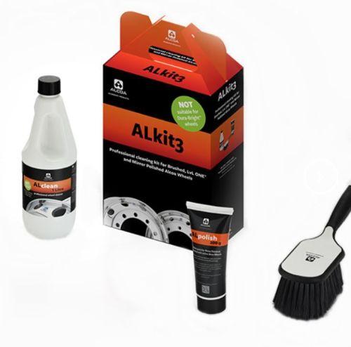 """Alcoa """"Alkit3"""" reinigingskit velgen(3-delig)"""