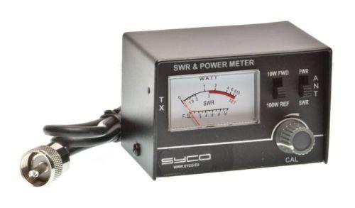 CB SWR/Power meter + tussenkabel PL/PL 60cm