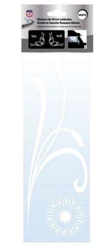 Kleverset raambloem wit H32cm