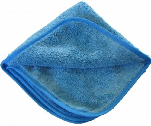 Microvezel polijstdoek blauw 40cmx40cm (5stuks)