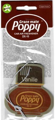 """Poppy luchtverfrisser hanger """"Vanille"""" original"""