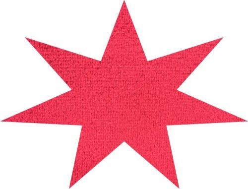 DL Stof per meter ELG NIEUW rood 140cm