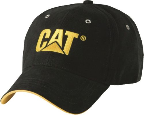 CAT Baseball Cap pet Zwart