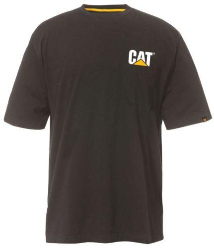 CAT Trademark T-Shirt Zwart L
