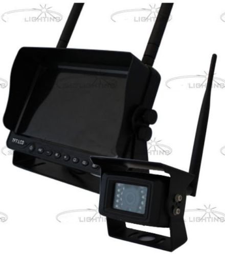"Achteruitrijcamera + monitor TFT/LCD 7"" SPLIT (draadloos)"