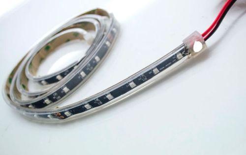 """Ledstrip 24V """"Flex"""" COLD WHITE IP68(120cm) 72LED"""