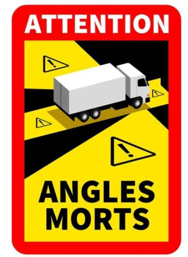 """Klever """"Angles Morts"""" truck (17cmx25cm)"""
