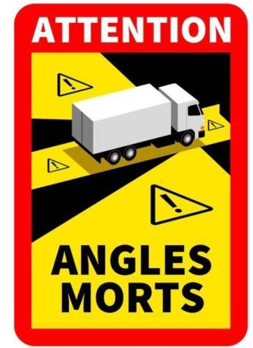 "Magneetklever ""Angles Morts"" truck(17cmx25cm)"