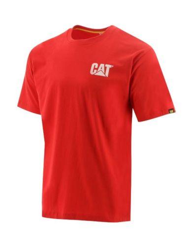 CAT T-Shirt Trademark laser rood XL
