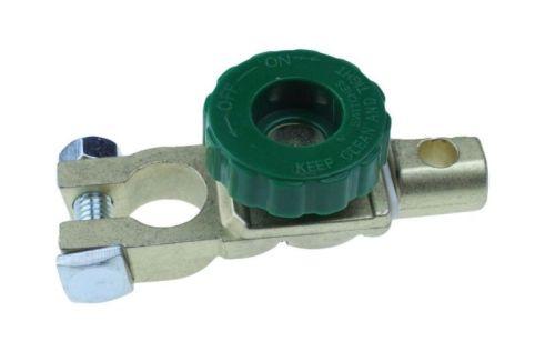 """Batterijsleutel """"Oldtimer"""" -pool (17,5mm) 6V/12V/24V (groen)"""