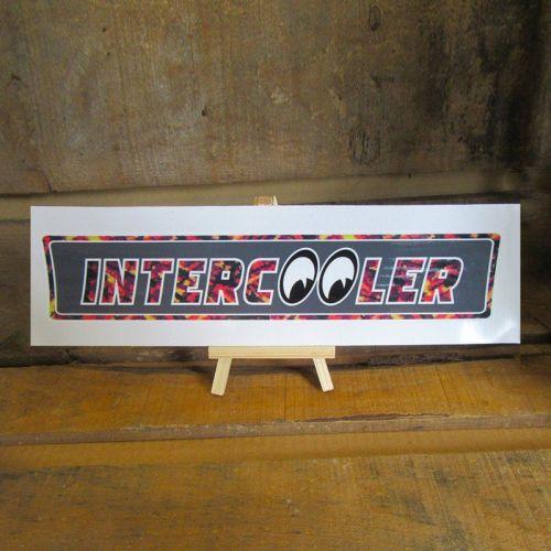 "Klever ""Intercooler rood pluche"" 26,5cm x 5,5cm"