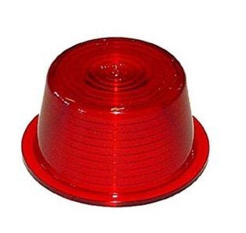 """Losse lens rood 60mm Zweedse breedtepaal """"Gylle"""""""