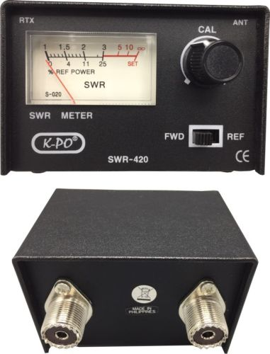 CB SWR meter - All for your car and truck Delrue