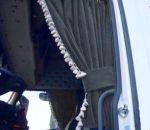 DL Zijgordijnenset 90cm witte franjes  ELG grijs