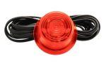 Verre feu LED orange (lentille orange) 10-30V lampe Suédoise