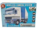 """Achteruitrijsysteem camera + monitor LCD 7"""" draadloos 24V"""