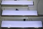 Lichtbak INOX LED wit spoilermodel30x160x15cm