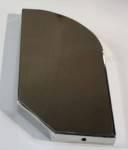 Lichtbak zijkanten INOX 30cm (set 2stuks)